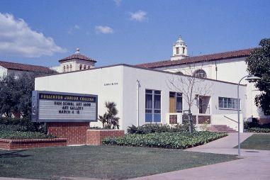 Fullerton Jr College - oldest community in CA