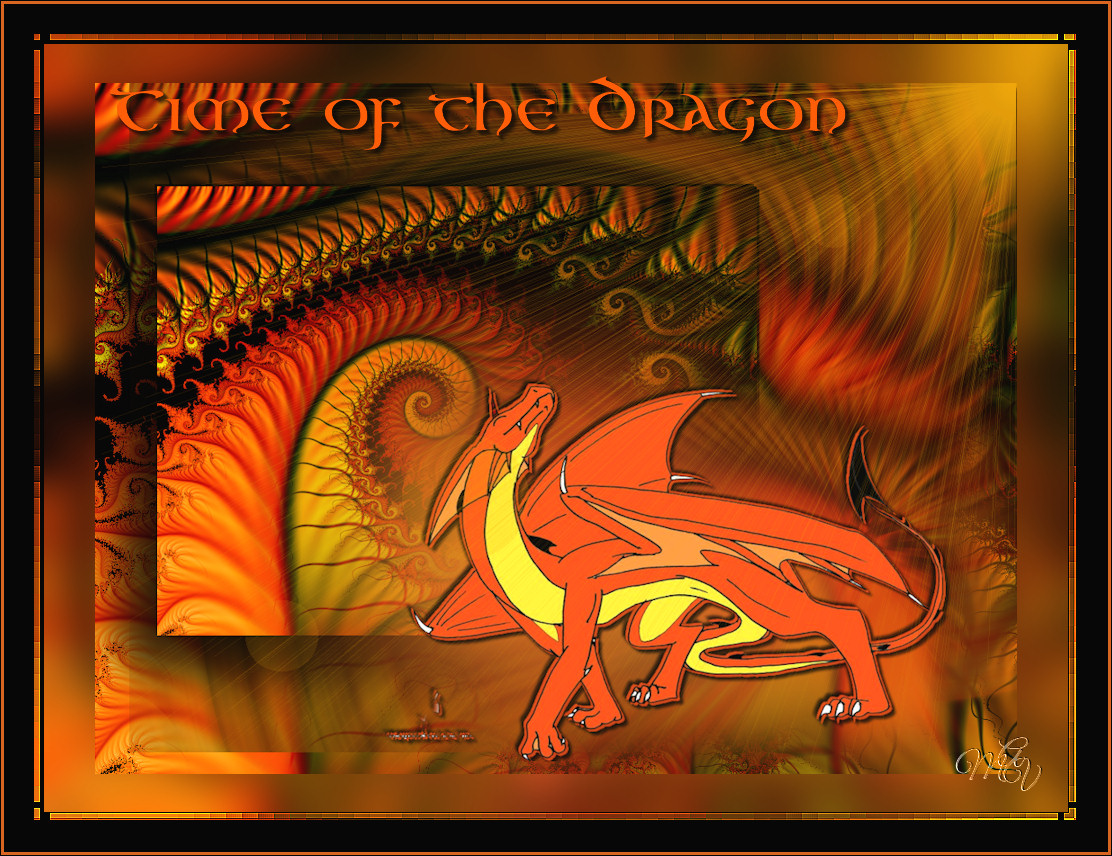 dragon fractal October