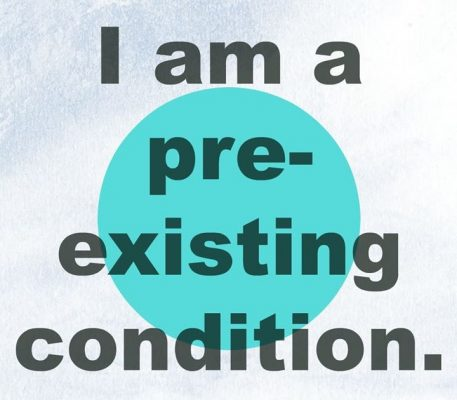 You, Me and PTSD: I am a Pre-exisiting Condtion.