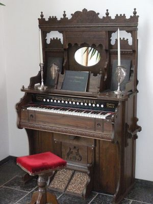 Grandmother's Pump Organ