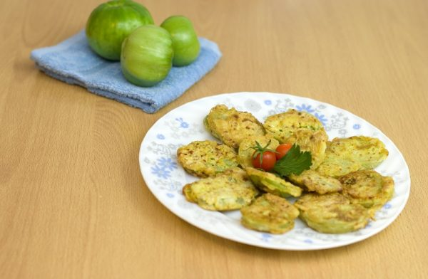 Fried Green Tomatoes with Jo Elizabeth Pinto