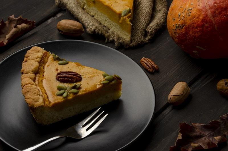 Ginger Pecan Pumpkin Pie